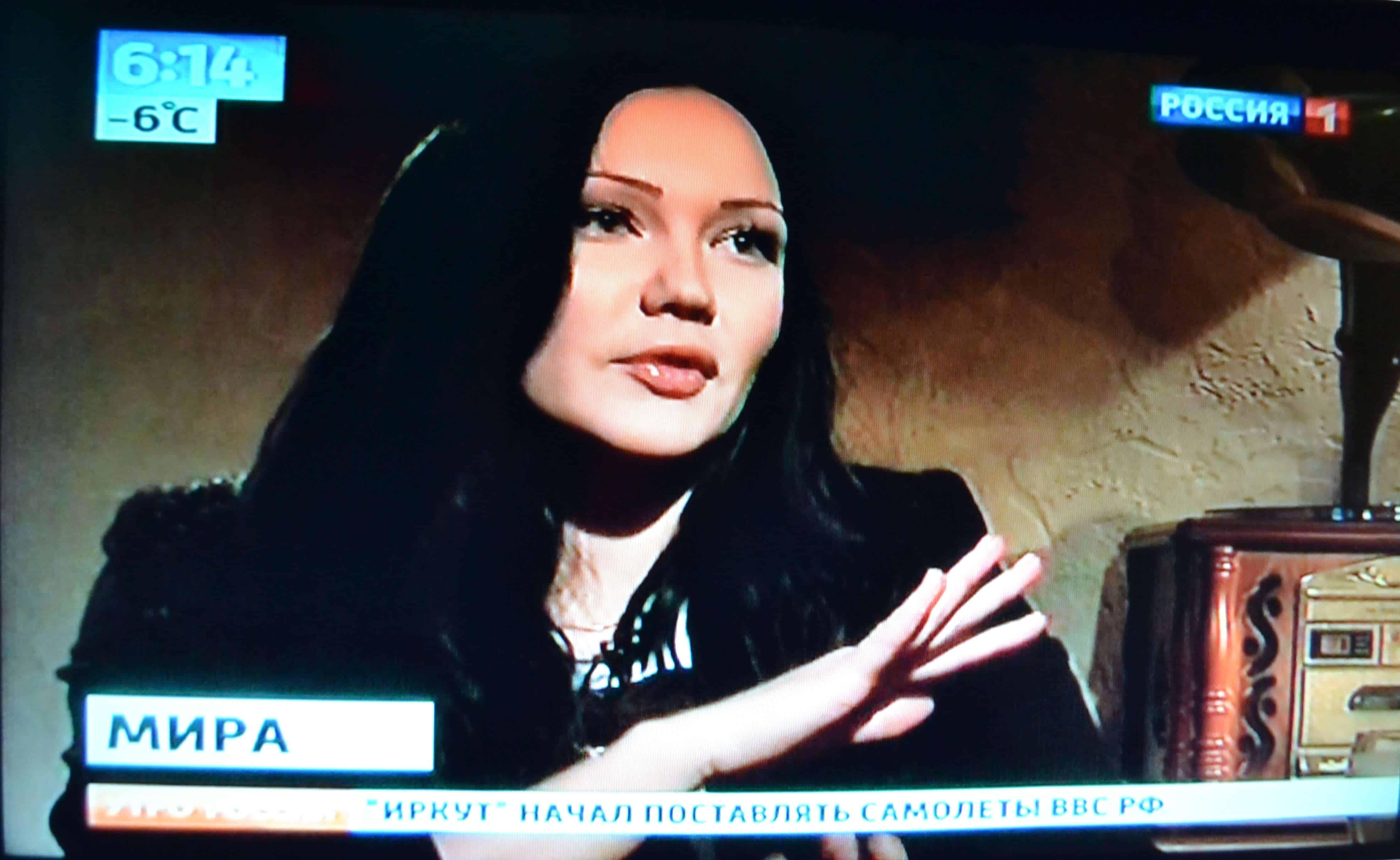 Интервью певицы Миры для программы Вести