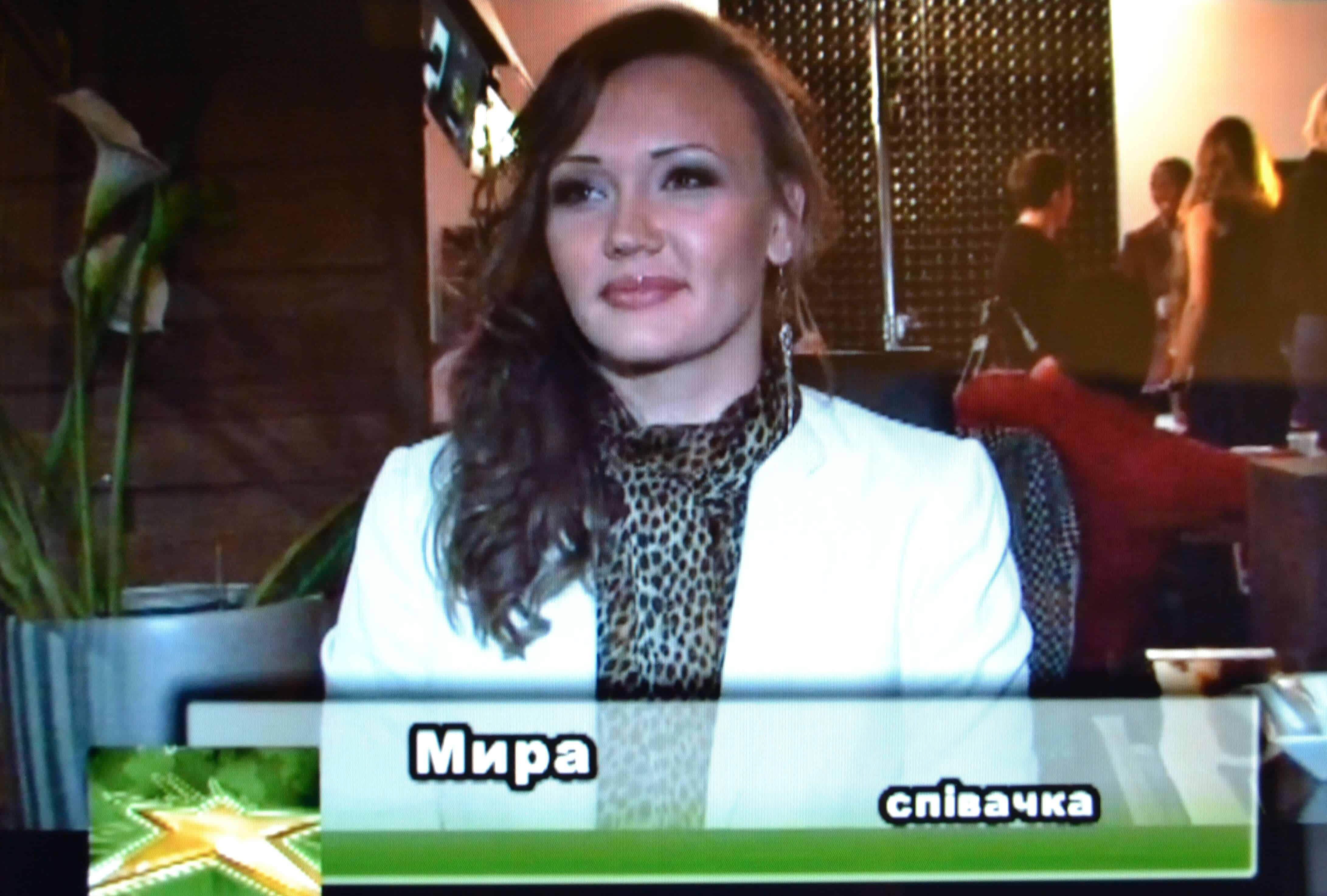 Интервью на Белорусском телевидении