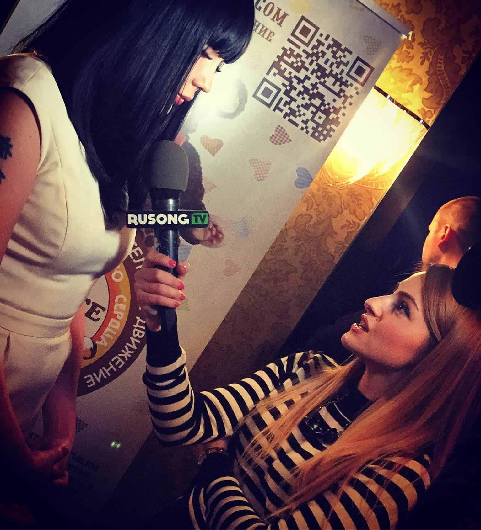 Интервью для RUSONG TV